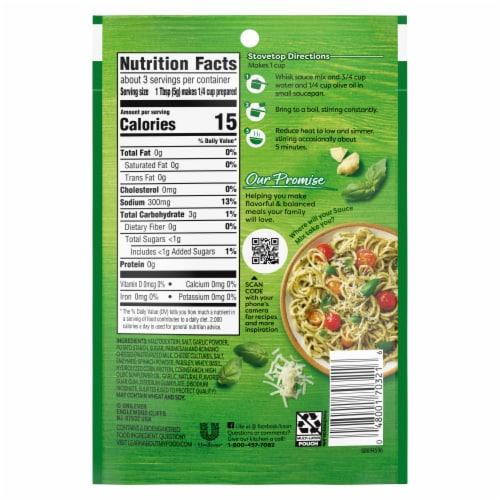 Knorr® Pesto Sauce Mix Perspective: left