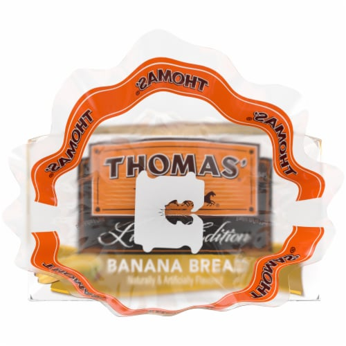 Thomas Banana Bread English Muffins Perspective: left