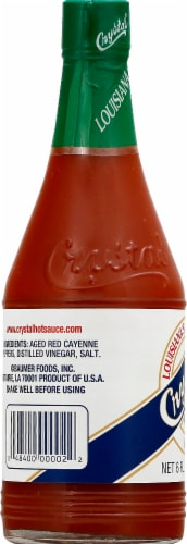 Crystal Hot Sauce Perspective: left