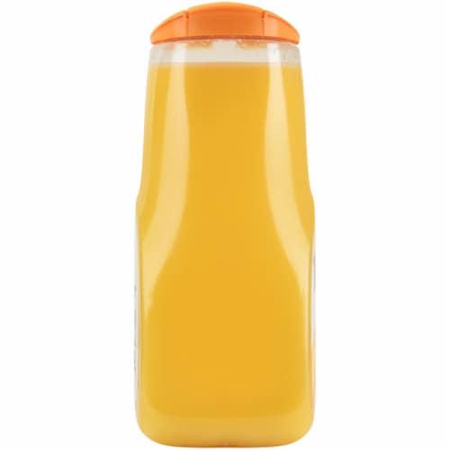 Tropicana Orange Juice with Calcium + Vitamin D 89 oz Bottle Perspective: left