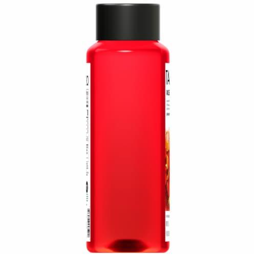 Tazo Iced Tea Hibiscus Passion Herbal Tea Bottle Perspective: left