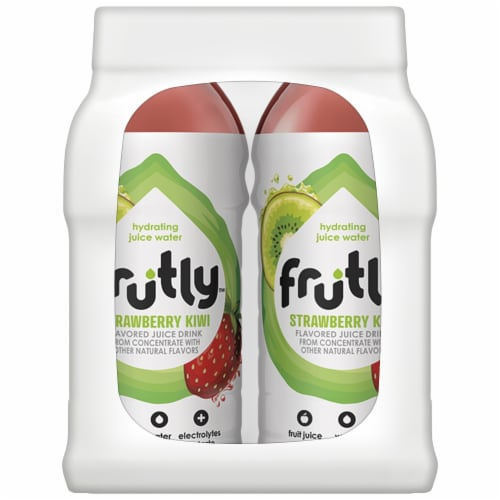 Frutly Strawberry Kiwi Hydrating Juice Water Perspective: left