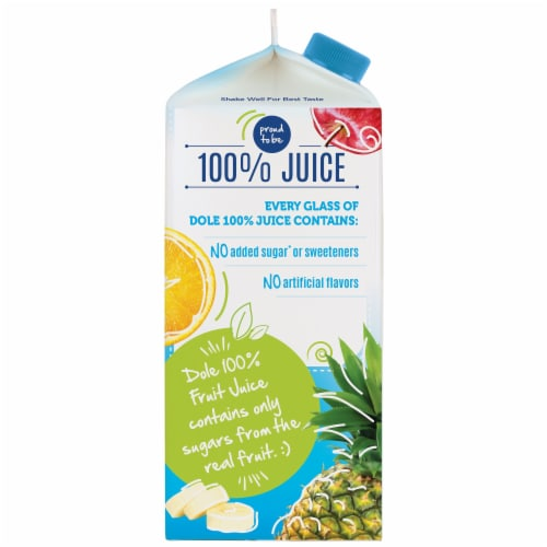 Dole Pineapple Juice Perspective: left