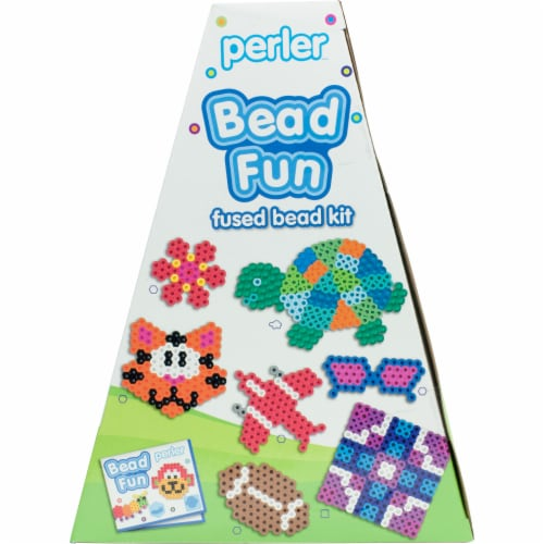 Perler Bead Fun Fused Bead Kit Perspective: left