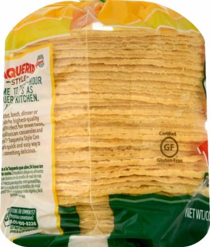 Guerrero Taqueria Style Mini Yellow Corn Tortillas Perspective: left