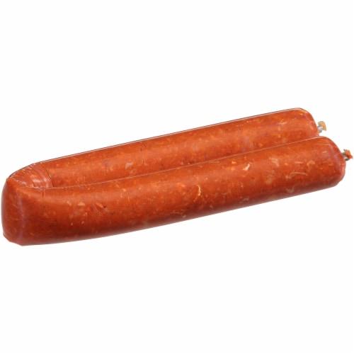 Reynaldo's Beef Chorizo Breakfast Sausage Perspective: left