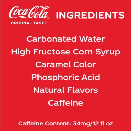 Coca-Cola Soda 20 Cans Perspective: left