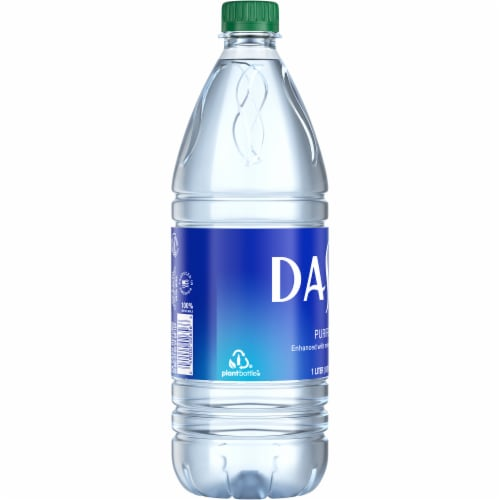Dasani Purified Water Bottle Perspective: left