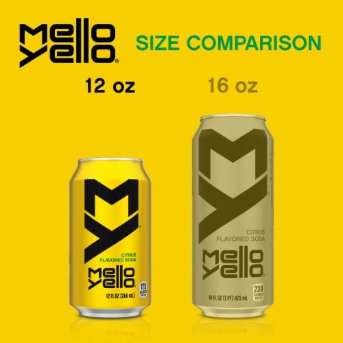 Mello Yello Citrus Flavored Soda Perspective: left