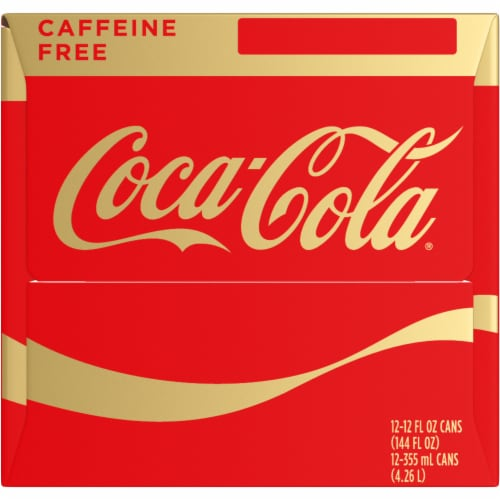Coca-Cola Caffeine Free Soda Perspective: left