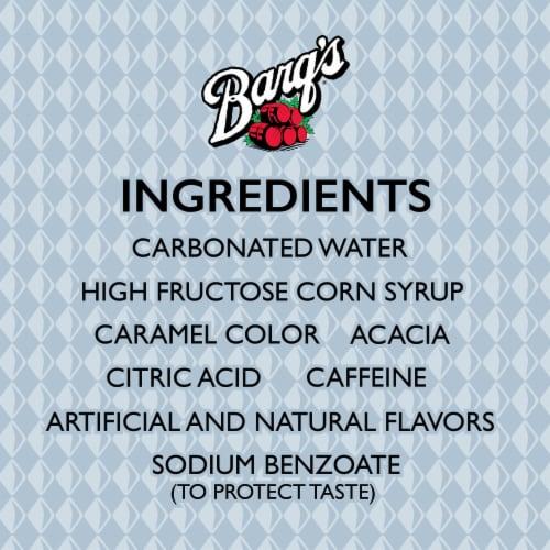 Barq's Root Beer Soda Perspective: left