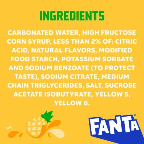 Fanta Pineapple Soda Perspective: left