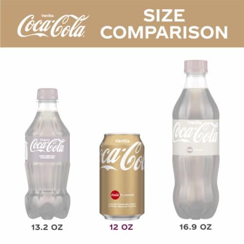 Coca-Cola Vanilla Cola Soda Perspective: left