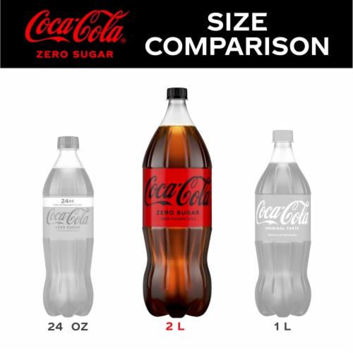 Coca-Cola® Zero Sugar Soda Perspective: left