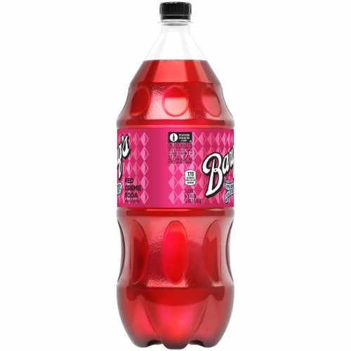 Barq's Red Creme Soda Perspective: left