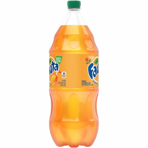 Fanta Mango Soda Perspective: left