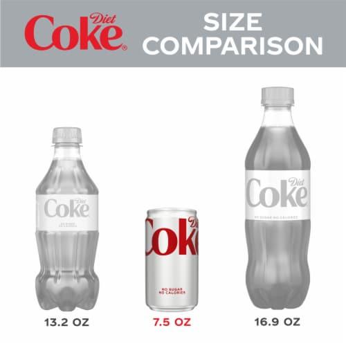 Diet Coke Mini Soda Perspective: left