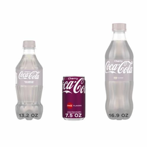 Coca-Cola Cherry Soda Perspective: left