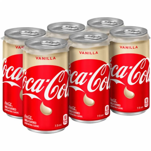 Coca-Cola Vanilla Soda Perspective: left