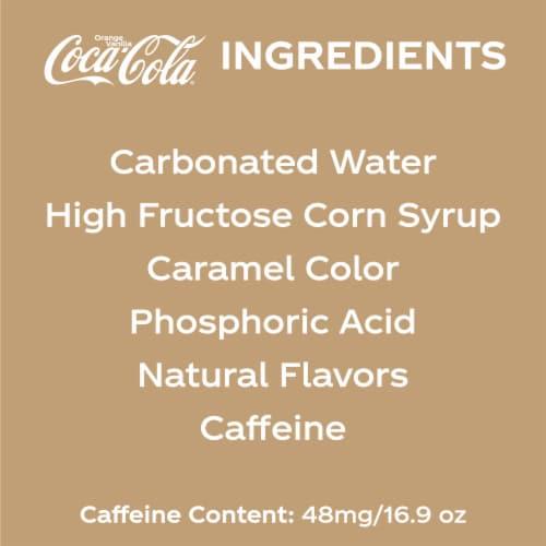 Coca-Cola Orange Vanilla Soda Perspective: left