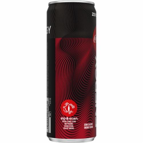 Coca-Cola Zero Sugar Energy Drink Perspective: left