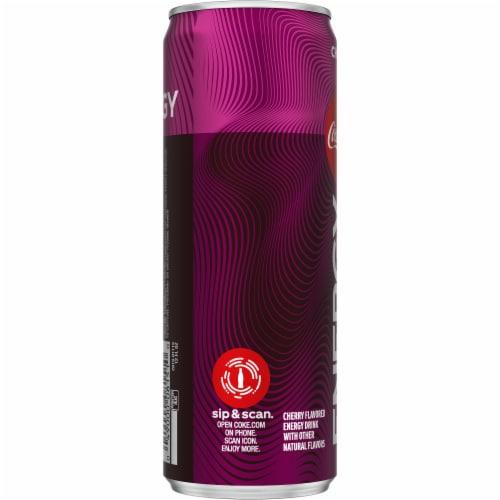 Coca-Cola Cherry Energy Drink Perspective: left