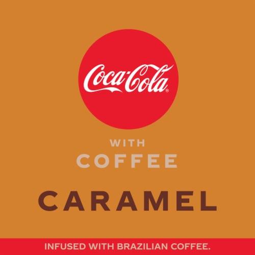 Coca-Cola with Coffee Caramel Soda Perspective: left
