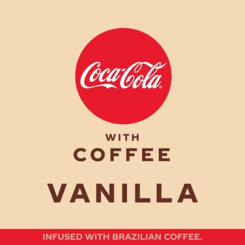 Coca-Cola with Coffee Vanilla Soda Perspective: left