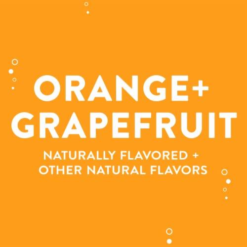 AHA Orange + Grapefruit Sparkling Water Perspective: left