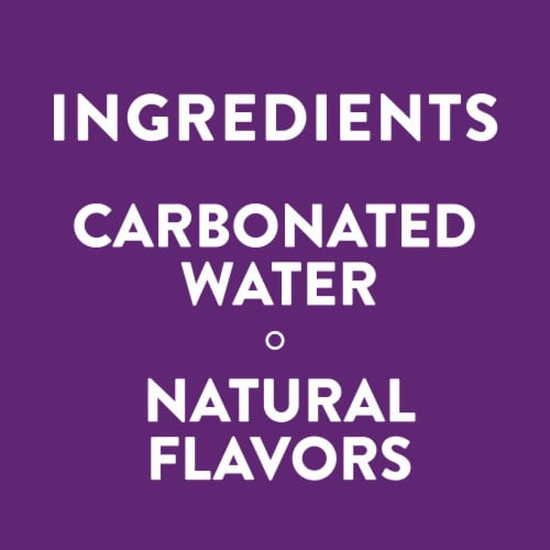 AHA Rasberry Acai Sparkling Water Perspective: left