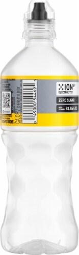 Powerade Zero Sugar Power Water Lemon Perspective: left