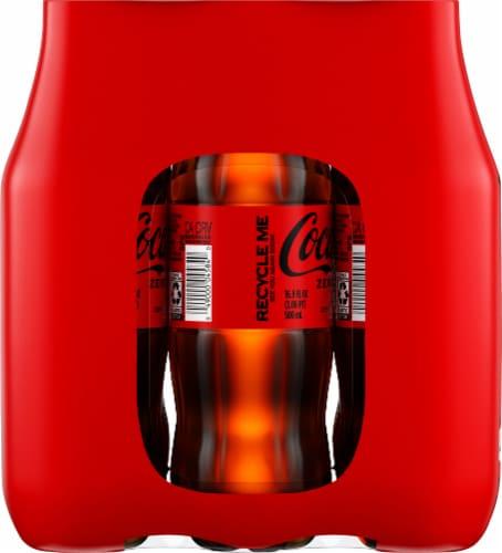 Coca-Cola Zero Sugar Cola Soda Perspective: left