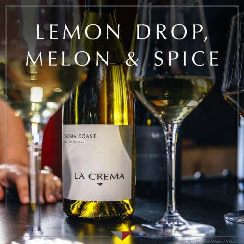 La Crema Sonoma Coast Chardonnay White Wine Perspective: left