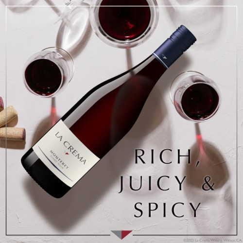 La Crema Monterey Pinot Noir Red Wine Perspective: left