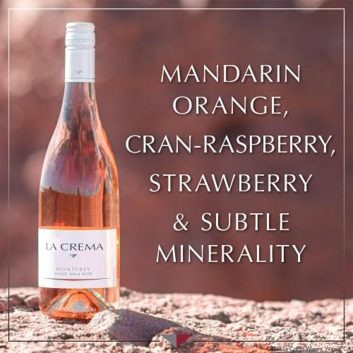 La Crema Monterey Pinot Noir Rose Wine Perspective: left