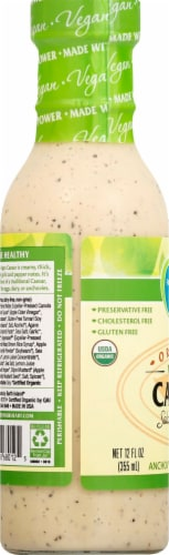 Follow Your Heart Organic Vegan Caesar Salad Dressing Perspective: left