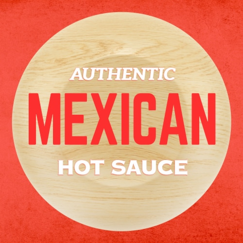 Cholula Hot Sauce Perspective: left