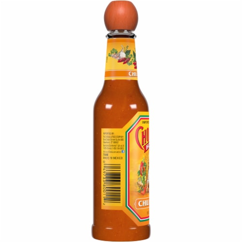 Cholula Chili Garlic Hot Sauce Perspective: left