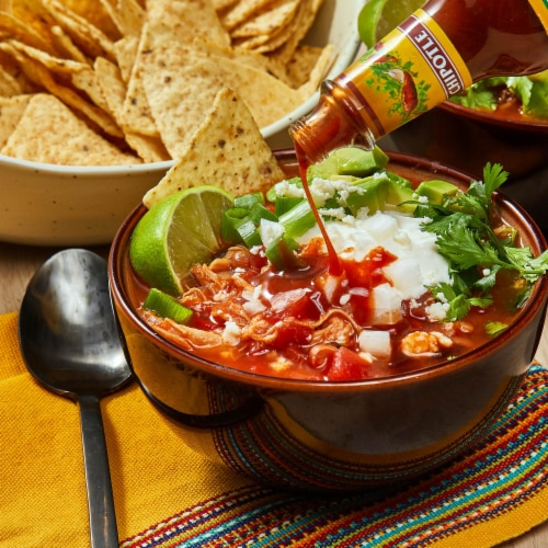 Cholula Chipotle Hot Sauce Perspective: left