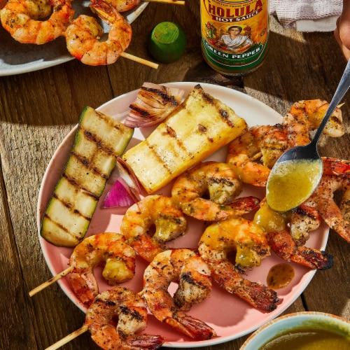 Cholula Green Pepper Hot Sauce Perspective: left