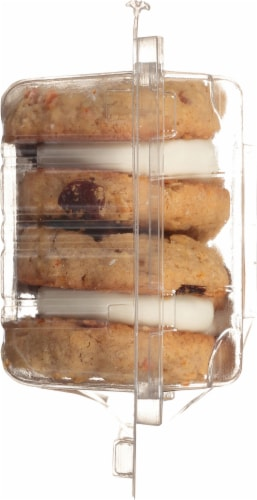 Our Specialty Sweet Middles Carrot Cake Cookies 6 Count Perspective: left
