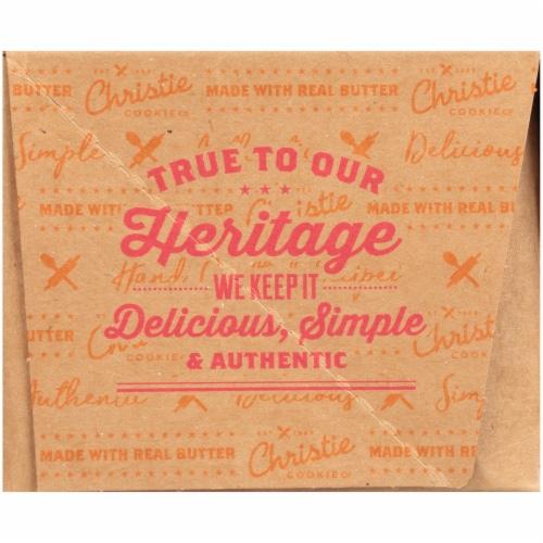Christie Cookie Co. Crispy Salted Caramel Gourmet Cookies Perspective: left