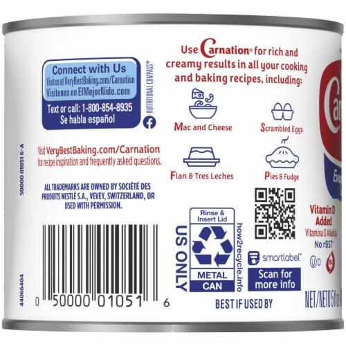 Nestle Carnation Evaporated Milk Perspective: left
