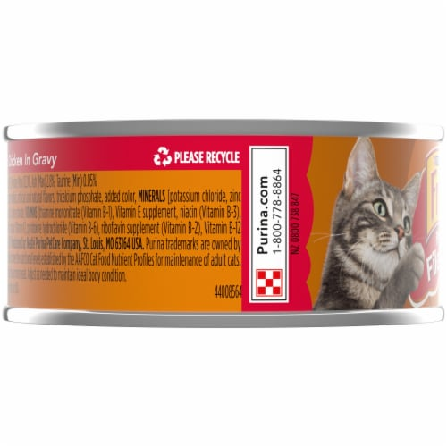Purina Friskies Prime Filets with Chicken in Gravy Wet Cat Food Perspective: left