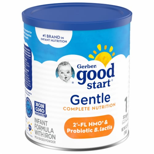 Gerber Good Start Everyday Probiotics Stage 1 Powder Infant Formula with Iron Perspective: left