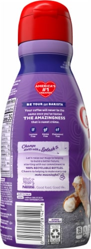 Nestle Coffee mate Italian Sweet Creme Liquid Coffee Creamer Perspective: left