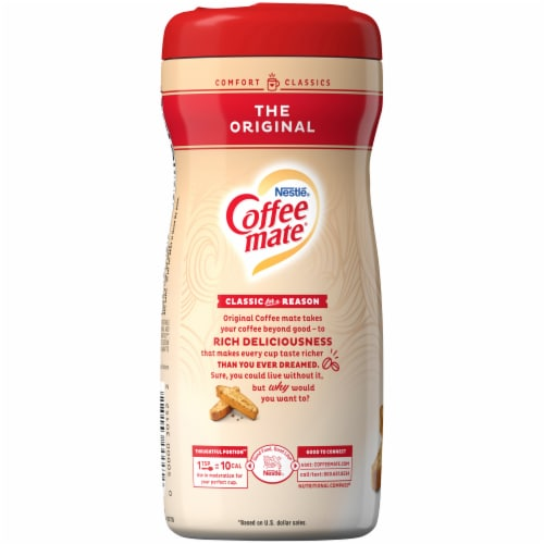 Coffee-mate The Original Powder Coffee Creamer Perspective: left