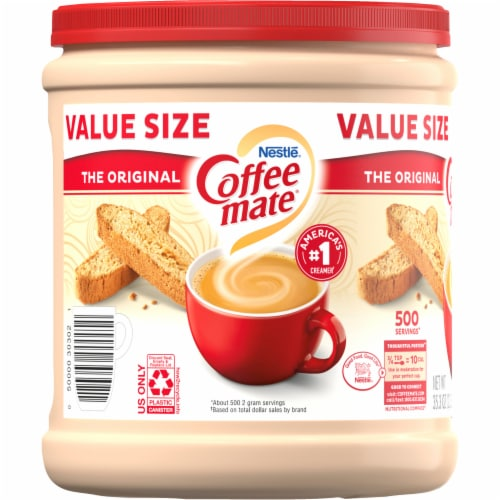 Coffee-mate The Original Powdered Coffee Creamer Perspective: left