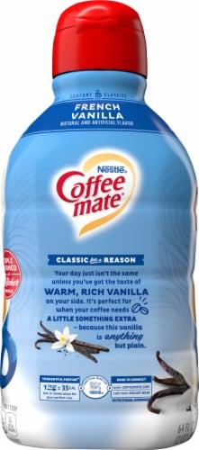 Nestle Coffee mate French Vanilla Liquid Coffee Creamer Perspective: left