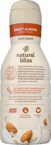 Coffee-mate Natural Bliss Protein Liquid Coffee Creamer Perspective: left